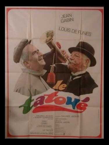 Affiche du film LE TATOUE