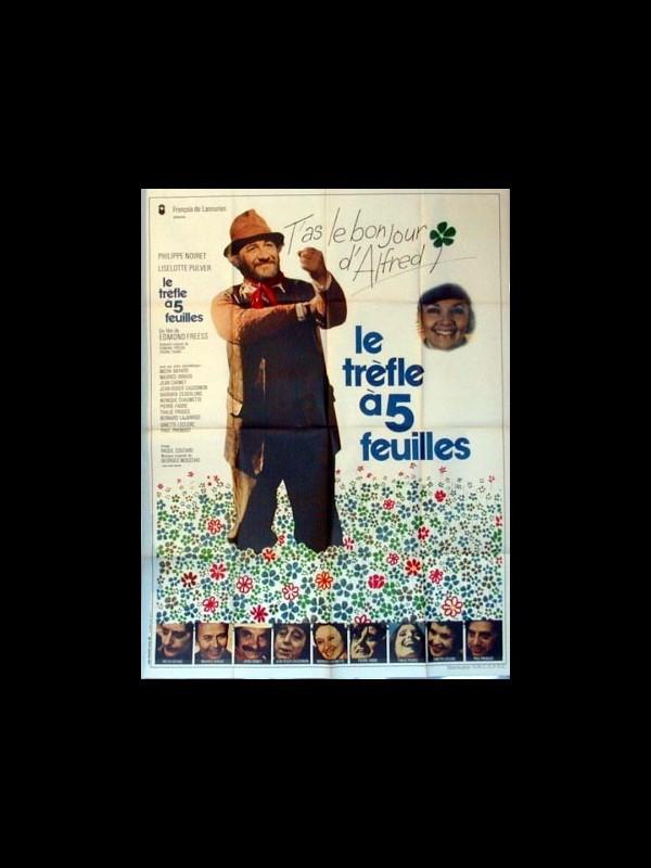 Affiche du film LE TREFLE A CINQ FEUILLES