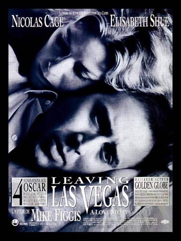 Affiche du film LEAVING LAS VEGAS
