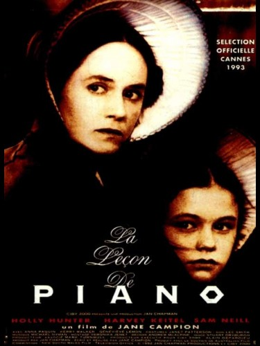 Affiche du film LECON DE PIANO (LE) - THE PIANO