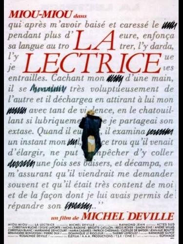 Affiche du film LECTRICE (LA)