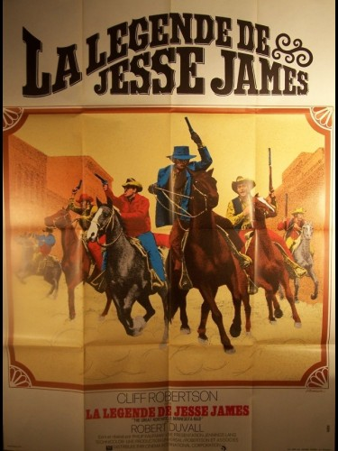 Affiche du film LEGENDE DE JESSE JAMES (LA) - THE GREAT NORTHFIELD
