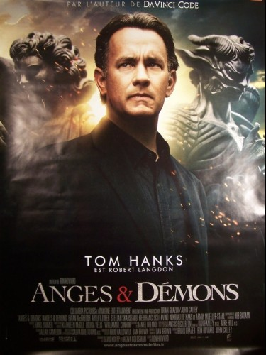 Affiche du film ANGES ET DEMONS - ANGELS & DEMONS