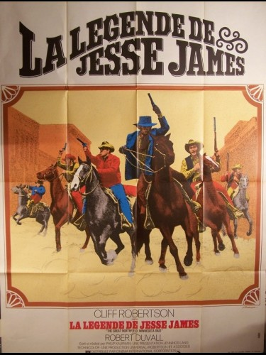 Affiche du film LEGENDE DE JESSE JAMES (LA) - THE GREAT NORTHFIELD MINNESOTA RAID