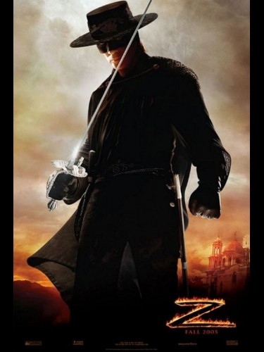 Affiche du film LEGENDE DE ZORRO (LA) - LEGEND OF ZORRO