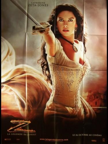 Affiche du film LEGENDE DE ZORRO CATHERINE ZETA-JONES