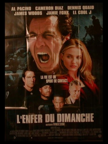 Affiche du film L'ENFER DU DIMANCHE - ANY GIVEN SUNDAY