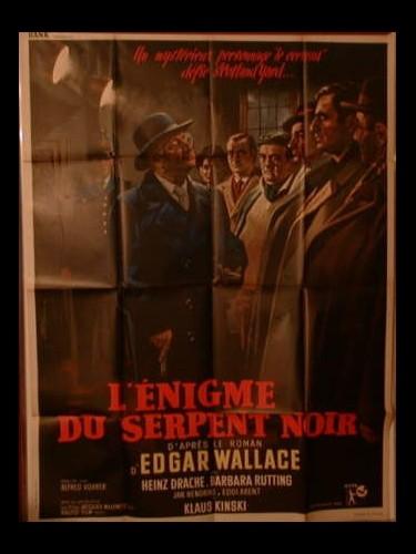 Affiche du film L'ENIGME DU SERPENT NOIR