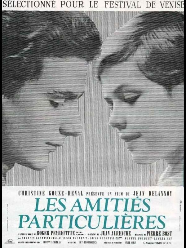 Affiche du film LES AMITIES PARTICULIERES