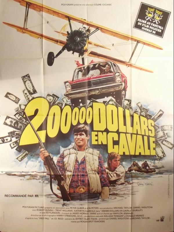 Affiche du film 200 000 DOLLARS EN CAVALE - THE PURSUIT OF D.B. COOPER