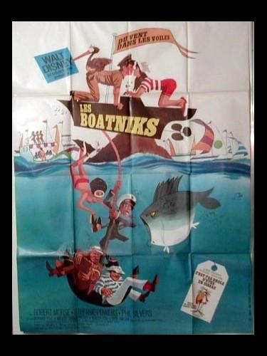 Affiche du film LES BOATNIKS - DU VENT DANS LES VOILES