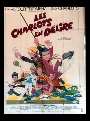 Affiche du film LES CHARLOTS EN DELIRE