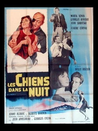 Affiche du film LES CHIENS DANS LA NUIT