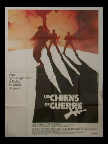Affiche du film LES CHIENS DE GUERRE - THE DOGS OF WAR