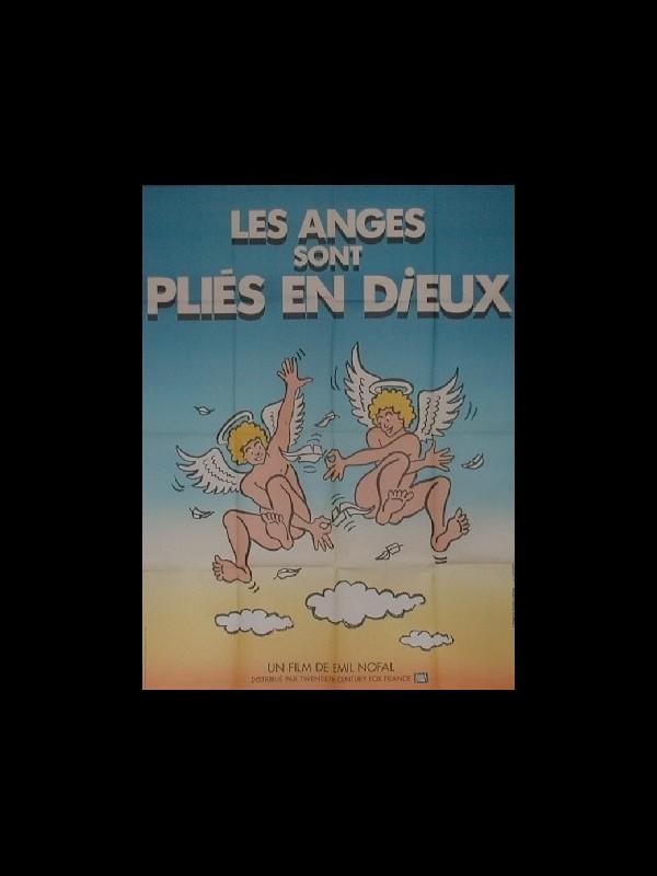 Affiche du film ANGES SONT PLIES EN DIEUX (LES)