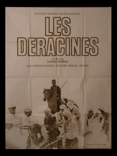 Affiche du film LES DERACINES