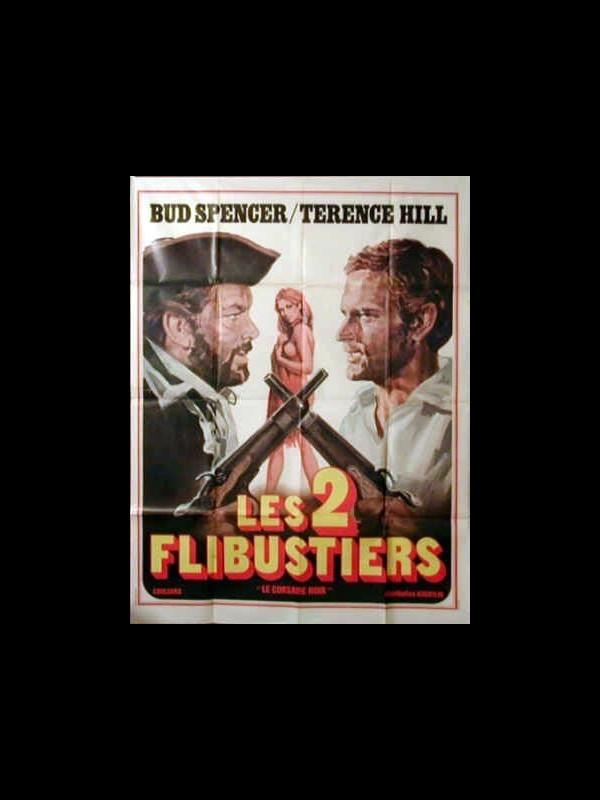 Affiche du film LES DEUX FLIBUSTIERS - IL CORSARO NERO