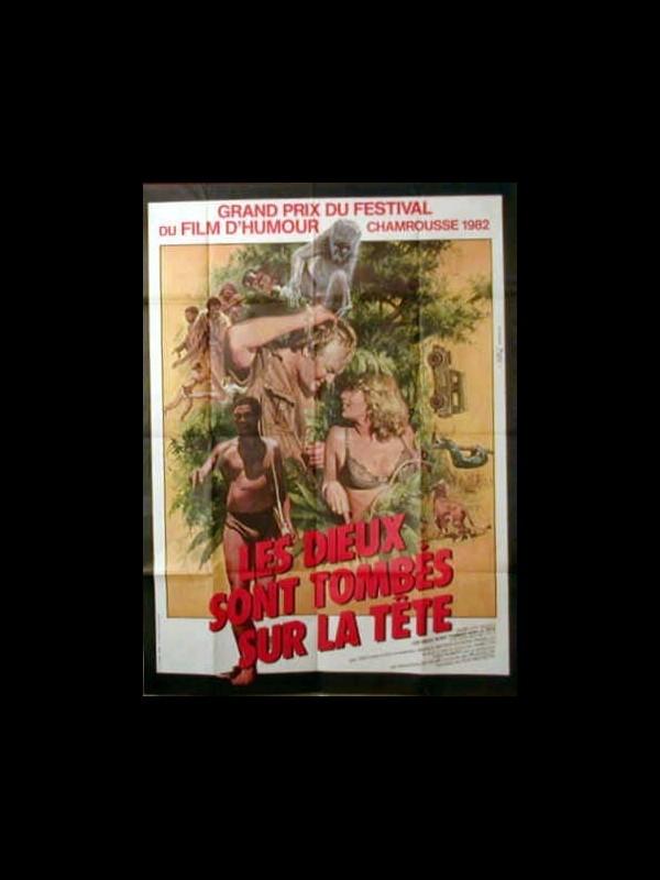 Affiche du film LES DIEUX SONT TOMBES SUR LA TETE - THE GODS MUST BE CRAZY