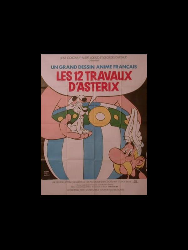 Affiche du film LES DOUZES TRAVAUX D'ASTERIX