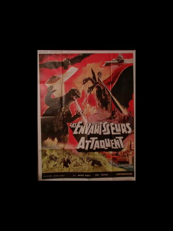 Affiche du film LES ENVAHISSEURS ATTAQUENT