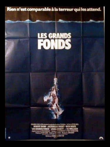 Affiche du film LES GRANDS FONDS - THE DEEP