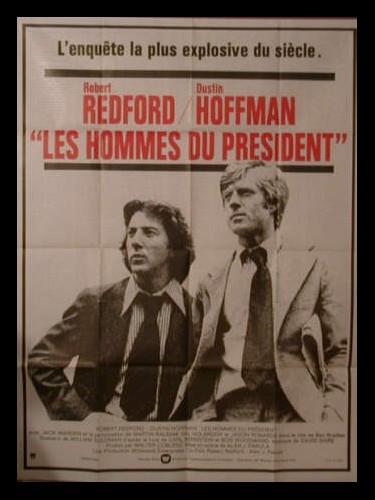 Affiche du film LES HOMMES DU PRESIDENT
