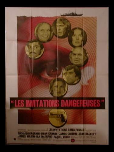 Affiche du film LES INVITATIONS DANGEREUSES - LAST OF SHEILA