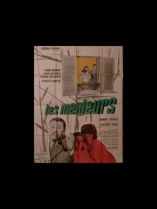 Affiche du film LES MENTEURS