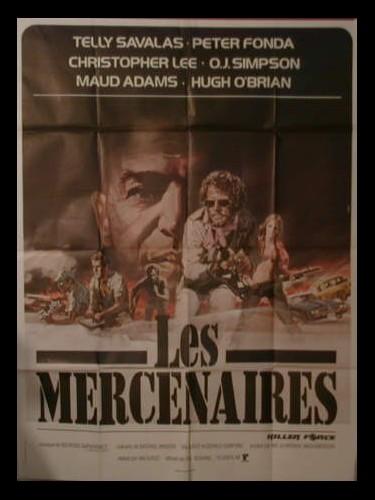 Affiche du film LES MERCENAIRES