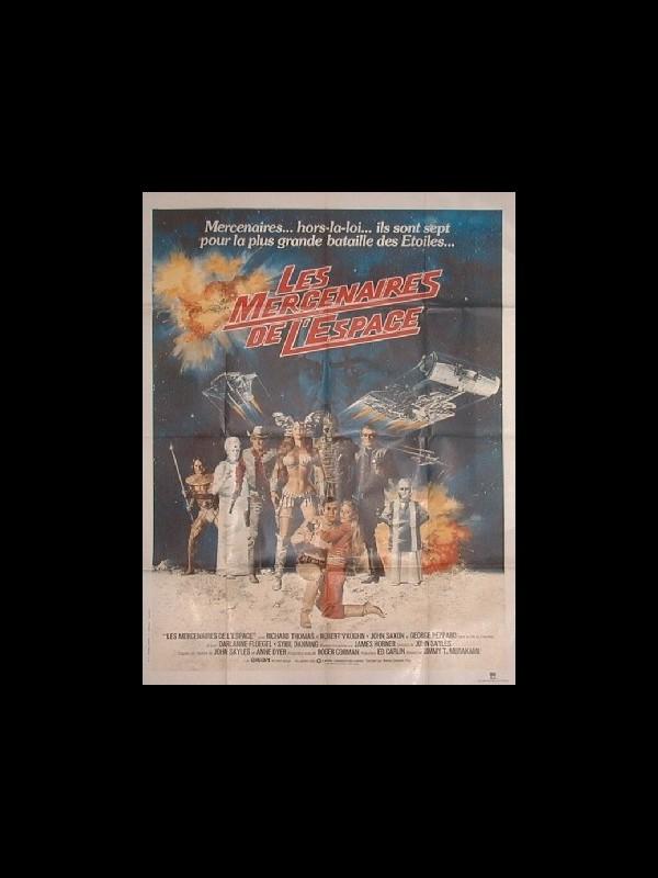 Affiche du film LES MERCENAIRES DE L'ESPACE