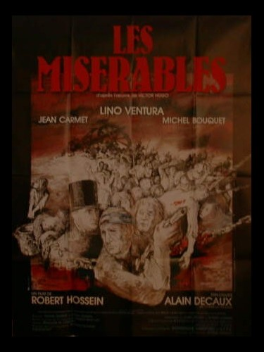 Affiche du film LES MISERABLES