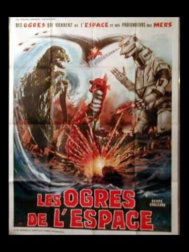 Affiche du film LES OGRES DE L'ESPACE - MEKAGOJIRA NO GYAKUSHU
