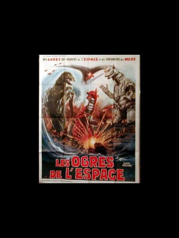 Affiche du film LES OGRES DE L'ESPACE - Titre original : MEKAGOJIRA NO GYAKUSHU