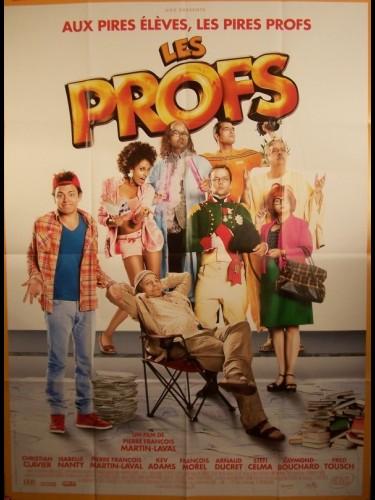 Affiche du film LES PROFS