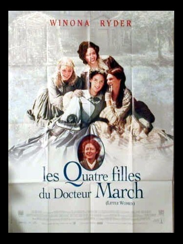 Affiche du film LES QUATRE FILLES DU DOCTEUR MARCH - LITTLE WOMEN