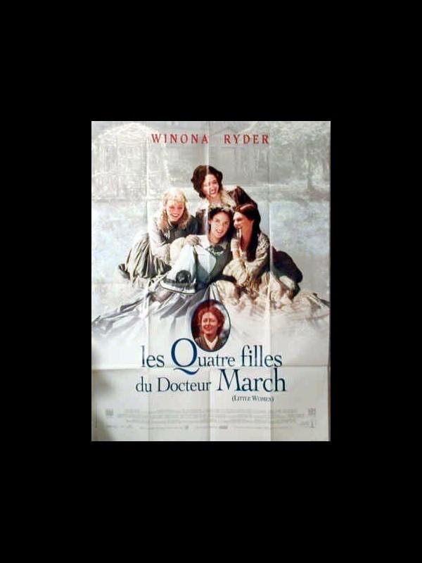 Affiche du film LES QUATRE FILLES DU DOCTEUR MARCH - LITTLE WOMEN