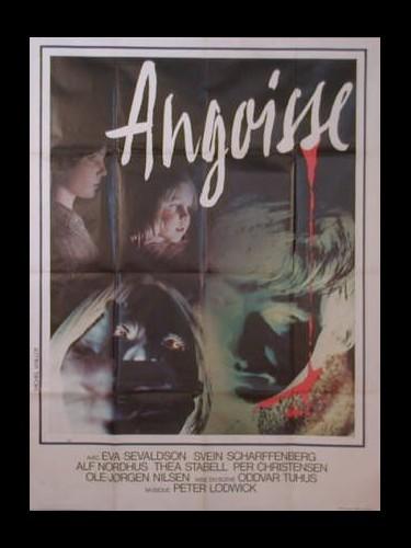 Affiche du film ANGOISSE - ANGST
