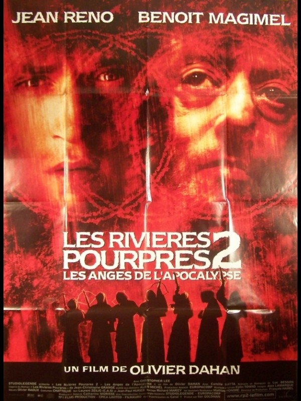 Affiche du film LES RIVIERES POURPRES 2