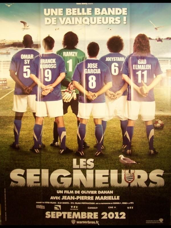 Affiche du film LES SEIGNEURS (DE DOS)