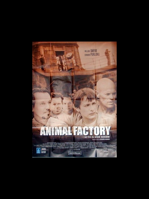 Affiche du film ANIMAL FACTORY
