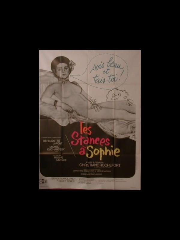 Affiche du film LES STANCES A SOPHIE