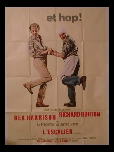 Affiche du film L'ESCALIER - STAIRCASE