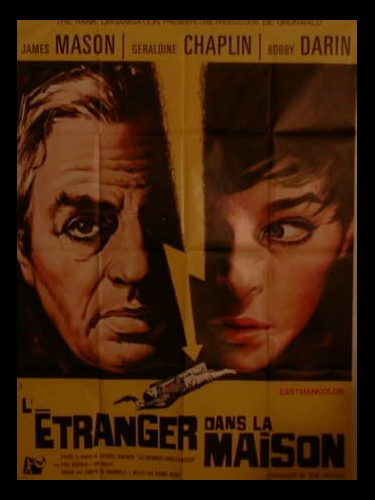 Affiche du film L'ETRANGER DANS LA MAISON - STANGER IN THE HOUSE