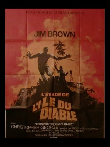 Affiche du film L'EVADE DE L'ILE DU DIABLE - I ESCAPED FROM DEVIL'S