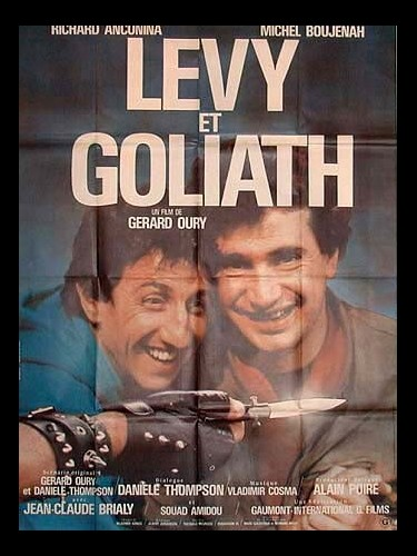 Affiche du film LEVY ET GOLIATH