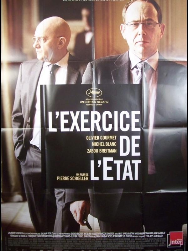 Affiche du film L'EXERCICE DE L'ETAT