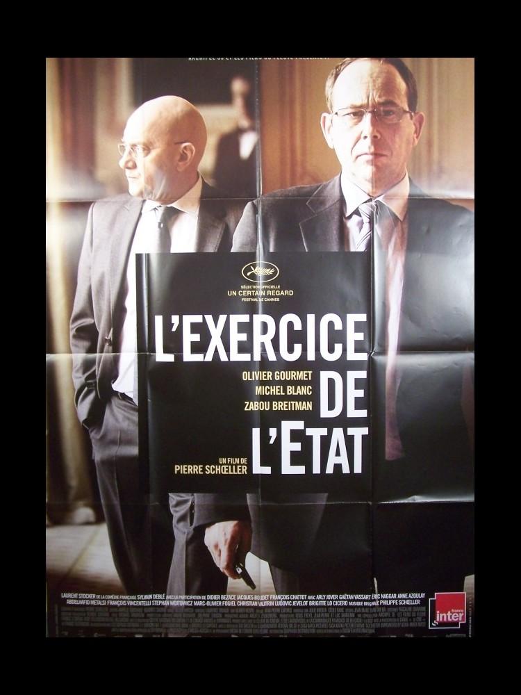 Affiche du film L'EXERCICE DE L'ETAT - CINEMAFFICHE