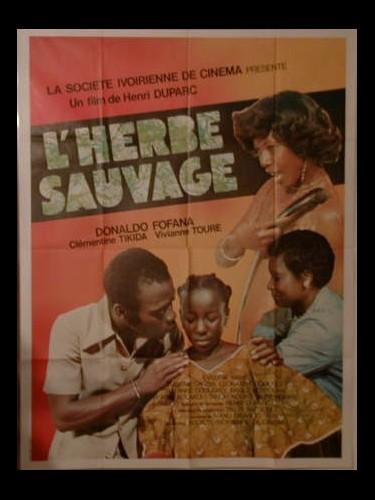 Affiche du film L'HERBE SAUVAGE