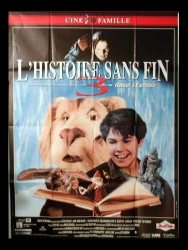 Affiche du film L'HISTOIRE SANS FIN 3 - THE NEVERENDING STORY 3