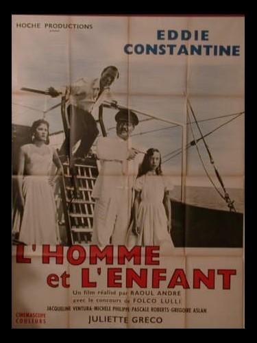 Affiche du film L'HOMME ET L'ENFANT